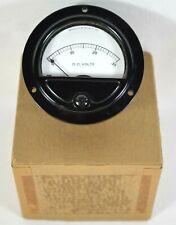 Vtg Triplett 0 30 Dc Volts Vu Meter Gage 8x19l Unused