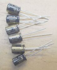 6 COUNT  NICHICON MUSE KZ 10uF/100V High-end Audio Electrolytic Capacitor