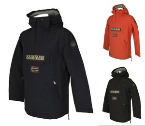 Giaccone giubbotto giacca uomo con cappuccio e tasche NAPAPIJRI articolo NP0A4EH