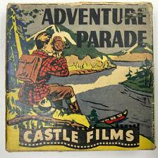 "Castle Films ""Caged Fury"" Adventure Films 16mm"