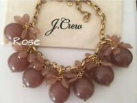 NWT J.Crew Blossom Bauble hthr khaki Necklace! Sold Out! $98