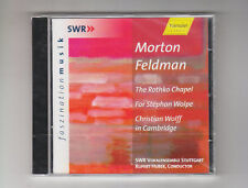 (CD) Feldman:  Rothko Chapel; For Stephan Wolpe / Huber, SWR Vokalensemble...