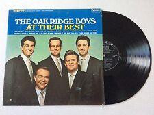 The Oak Ridge Boys AT THEIR BEST 1967 vinyl LP United Artists UAS-6554 + bonus