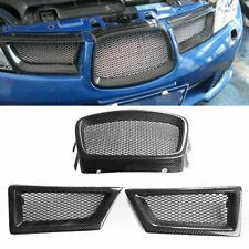 Carbon Fiber Front Mesh Grill Grille for Subaru Impreza 9th WRX/STI 2006-2007 FS