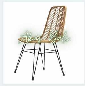 Rattan Chair / Cafe Restaurant Dining Chair / Terrace Garden Chair