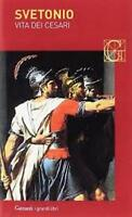 Vita dei Cesari, SVETONIO, GARZANTI GRANDI LIBRI CODICE:9788811361879