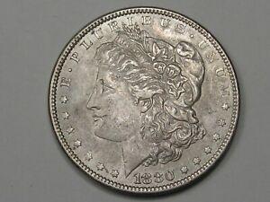 XF/AU 1880 Silver US Morgan Dollar. #33