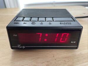 EQUITY Digital LED Alarm Clock No. 1010 VINTAGE *Free Shipping*