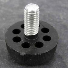 Confezione da 4 M8/15mm piede per mobili con base in plastica, altezza regolabile Gamba Piede
