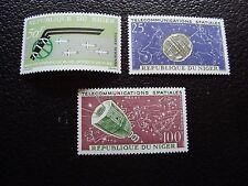 NIGER - timbre yvert et tellier aerien n° 35 a 37 n**  (C5) stamp