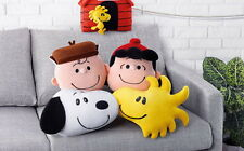 [U.S SELLER] 2015 Hong Kong Mcdonald's The Peanuts Plushie Cushion(Snoopy 1PC)