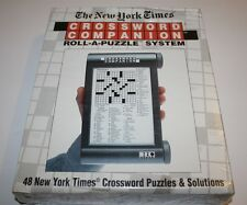 The New York Times Crossword Companion Roll-A-Puzzle System Brand New 1994