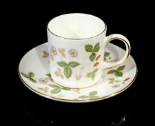 Beautiful Wedgwood Wild Strawberry Demitasse Cup And Saucer
