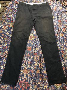 apolis Utiliyt Chino pants 34 Faded Navy distressed