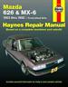 Mazda 626 MX-6 1983-1992 Haynes Workshop Manual Service Repair Manual