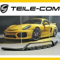 -50% TOP Porsche 981 Boxster/Cayman GTS/SportDesign Paket Spoiler vorn Schwarz
