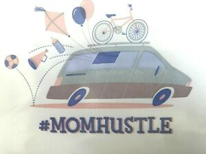 Marcel Schurman Papyrus Mothers Day Card #Momhustle Van with bicycle soccer ball
