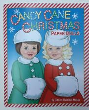 *Darling!* Candy Cane Christmas Paper Dolls By Eileen Rudisill Miller
