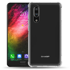 For Sharp Aquos R2 S2 S3 Clear Soft Silicone Shockproof Gel TPU Case Skin Cover