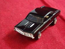 MoDEL MoToRING Black Chevy Chevelle + RRR  Wheels T-jet HO Scale Slot Car Aurora