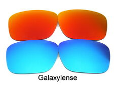 1003b69c299 Replacement Lenses For Ray Ban RB4165 Justin Blue Red 54mm Polarized 2 Pairs