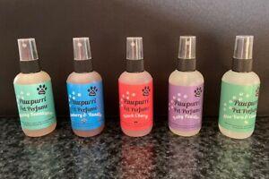 Pawpurri Pet Perfume 5 bottle Multi Pack -  Multiple flavours - wholesale joblot