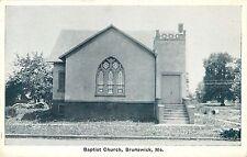 A Closeup View of the Baptist Church, Brunswick MO