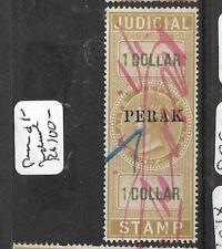 MALAYA PERAK JUDICIAL STAMPS (P0107B) QV $1.00      VFU