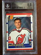 1990-91 Score Canadian #439 Martin Brodeur BGS 8.5 Rookie RC
