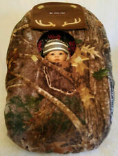 Car Seat Cover Kanati Camo Baby With Brown Fleece Cozy Custom Embroidery Infant