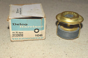 NOS GM 3133698 Thermostat Delco Harrison Nash Olds Packard Pontiac Willys White