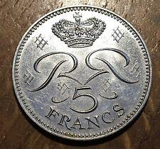 PIECE DE 5 FRANCS MONACO 1971 (119)
