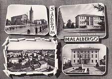 MALALBERGO (Bologna) - Saluti - Vedute