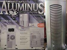 Ultra Silver Aluminus ATX Mid-Tower Case ULT-31826 NIB, Aluminum, Clear Side