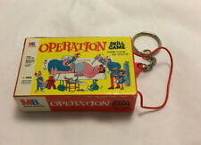 Vintage Hasbro 1998 Electronic Operation Skill Game Keychain - Not Working