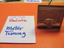REALISTIC RECEIVER  STA-52B TUNING METER