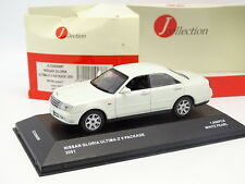 J Collection 1/43 - Nissan Gloria Ultima Z Blanche 2001