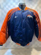 Denver BRONCOS Football NFL Starter Vintage Jacket Coat Size M