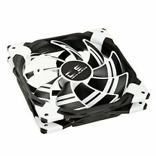 AeroCool Dead Silence 14cm LED Fan With Dual Material - White