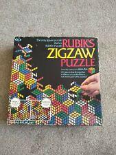 """Vintage En Caja Original Rubik's Cube """"zigsaw"""" Rompecabezas: 131 Piezas Completo"""