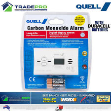 Smoke Alarm Quell PRO Carbon Monoxide Intelli Digital Display Detector & Battery