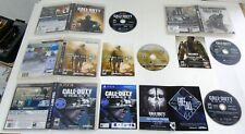 CALL OF DUTY (4) GAME LOT- Sony Playstation 3   Black Ops III/MW2/AW/GHOSTS