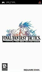 final fantasy tactics the war of the lions  psp