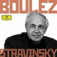 BOULEZ/BP/CSO/CO/+ - BOULEZ CONDUCTS STRAVINSKY 6 CD NEU