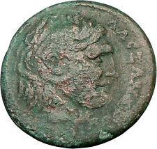 ALEXANDER III the GREAT On Horse Greek  Olympic Games Roman Era Coin  i22654