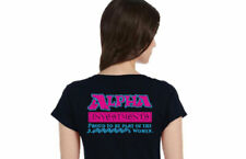 WOMENS - YouTube Alpha Investments Branded T-Shirts Logo Rudy
