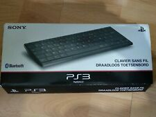 Official Sony Wireless Slim Bluetooth Keyboard AZERTY for PS2/3/4 & MAC/PC TV`s