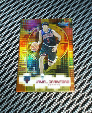 2000-01 TOPPS FINEST #133 JAMAL CRAWFORD BULLS RC GOLD ROOKIE REFRACTOR 002/100