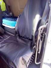 Coussin de siège Camion-Siège Housse de siège Coussin noir cuir synthétique pour SCANIA camion