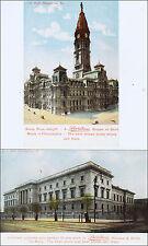 Lot: 2 Advertising: Puritan Clothing for Boys. Philadelphia, PA Views. Pre-1915.